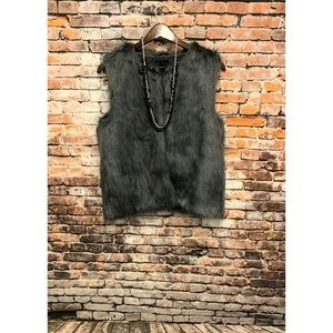 Faux Fur Vest by Forever 21